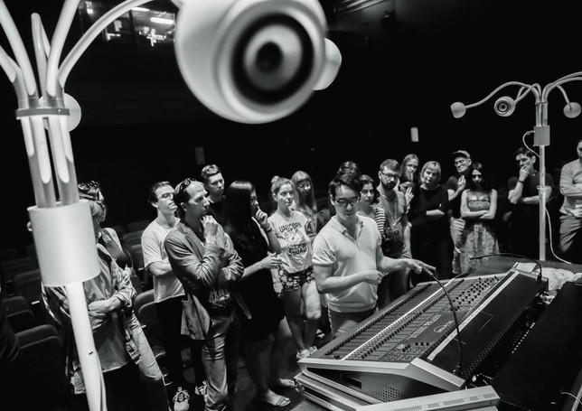 photo - @Anastasia Blur, Festival Acousmonium 2019