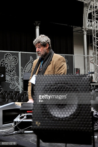 @ Presences Electronics 2011 Daniel Teruggi during the festival Presences electronics in CentQuatre. (Photo by Aude Paget / INA via Getty Images)