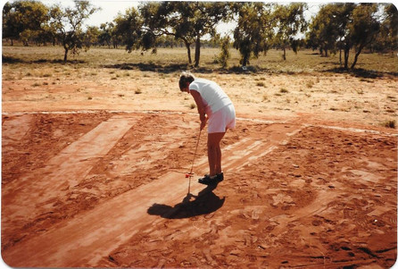 Betty Placanica Broome Golf Club 1981.jp