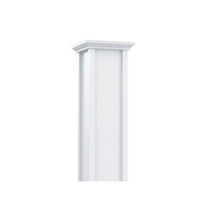 Aluminum Column | Square Recessed