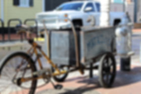 Old Time Delivery Bike