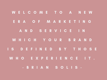 A New Era of Marketing [Part 1]