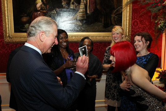 Performing for HRH Prince Charles at Windsor Castle