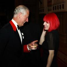 HRH Prince Charles at Windsor Castle