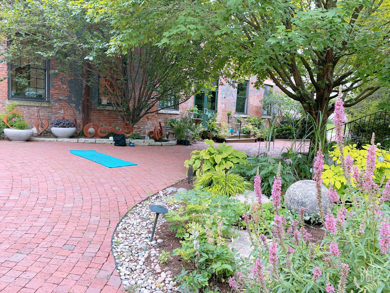 Zen Yoga In The Garden 7/12 & 7/19 6PM