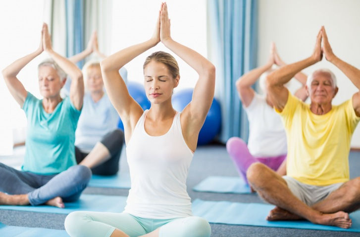 Yoga for Healthy Aging 11:00 AM