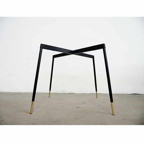 Lounge chair dual base