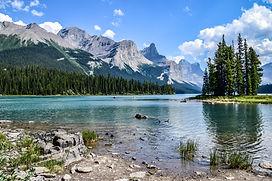 Mountain lake rockies audio driving tour
