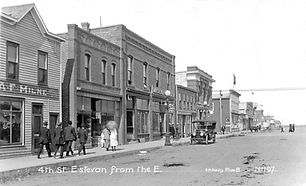 4th Street from the East, Estevan, Saska