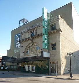 Burton Cummings Theatre walking tour