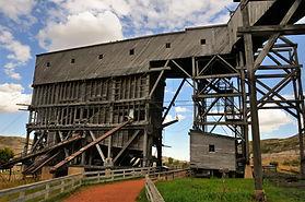 Atlas coal mine Drumheller audio walking tour