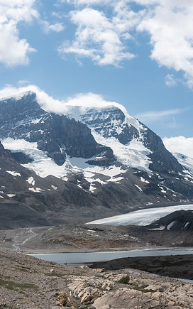 columbia icefield mountains audio driving tour
