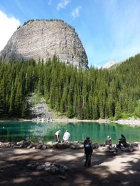 beehive mountain lake agnes tea house audio walking tour
