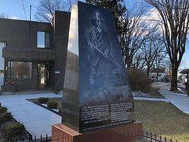 Bill Wells Fire Statue Halifax audio walking tour