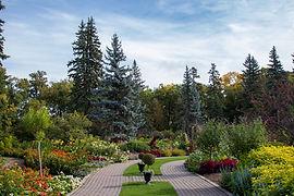 English Garden assiniboine park audio walking tour