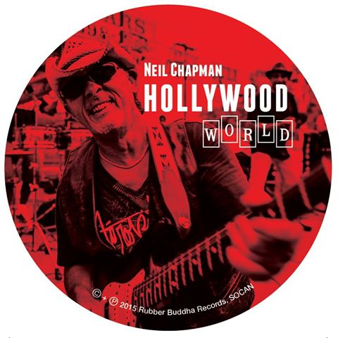 Neil Chapman CD Cover & Insert