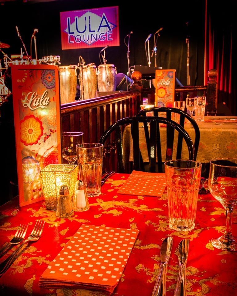 Romantic Table Overlooking the Stage