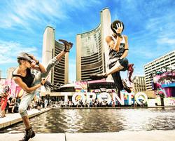 Lombard Twins at Toronto PanAm Games