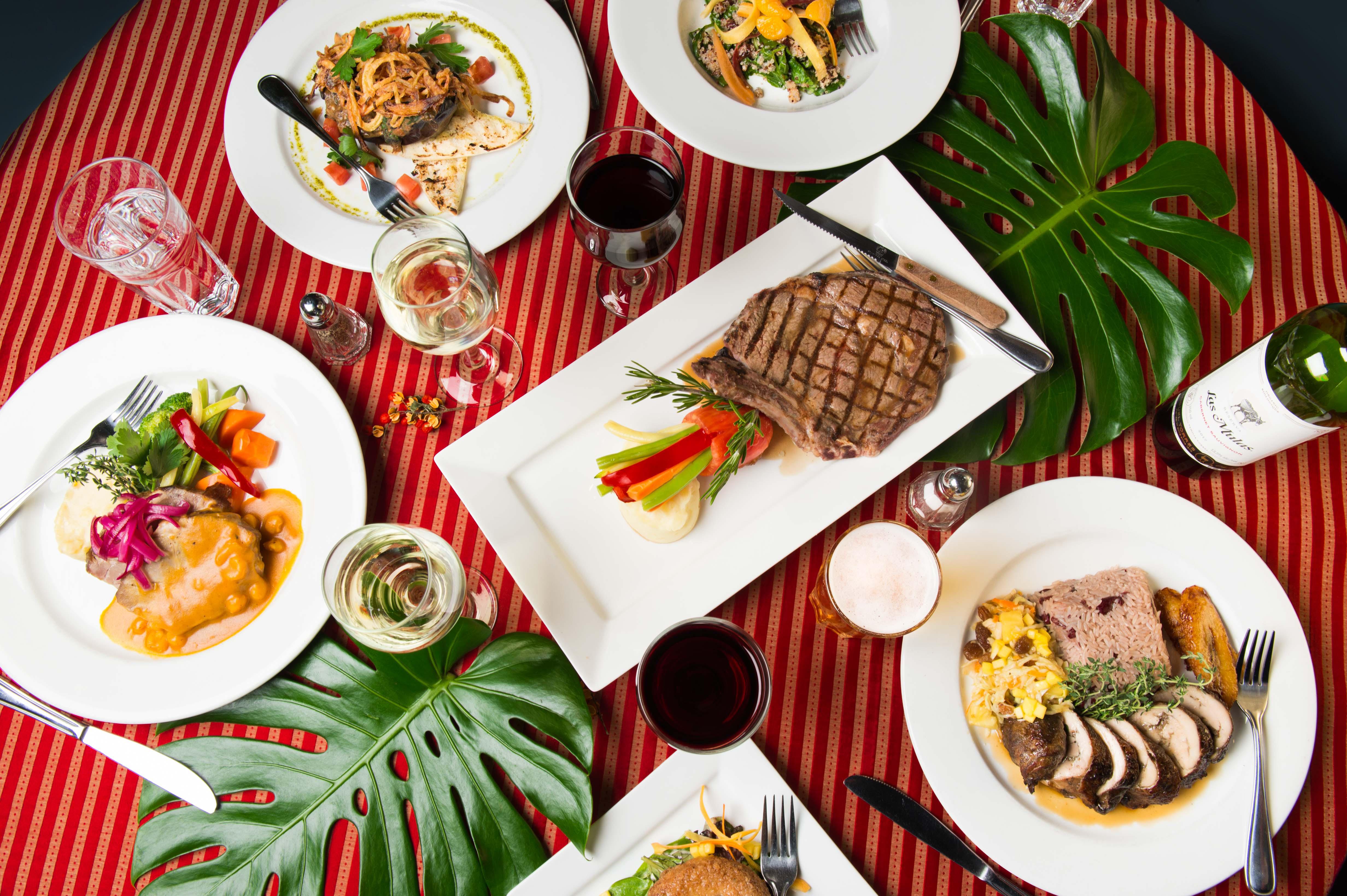 Lula Lounge Dinner Menu