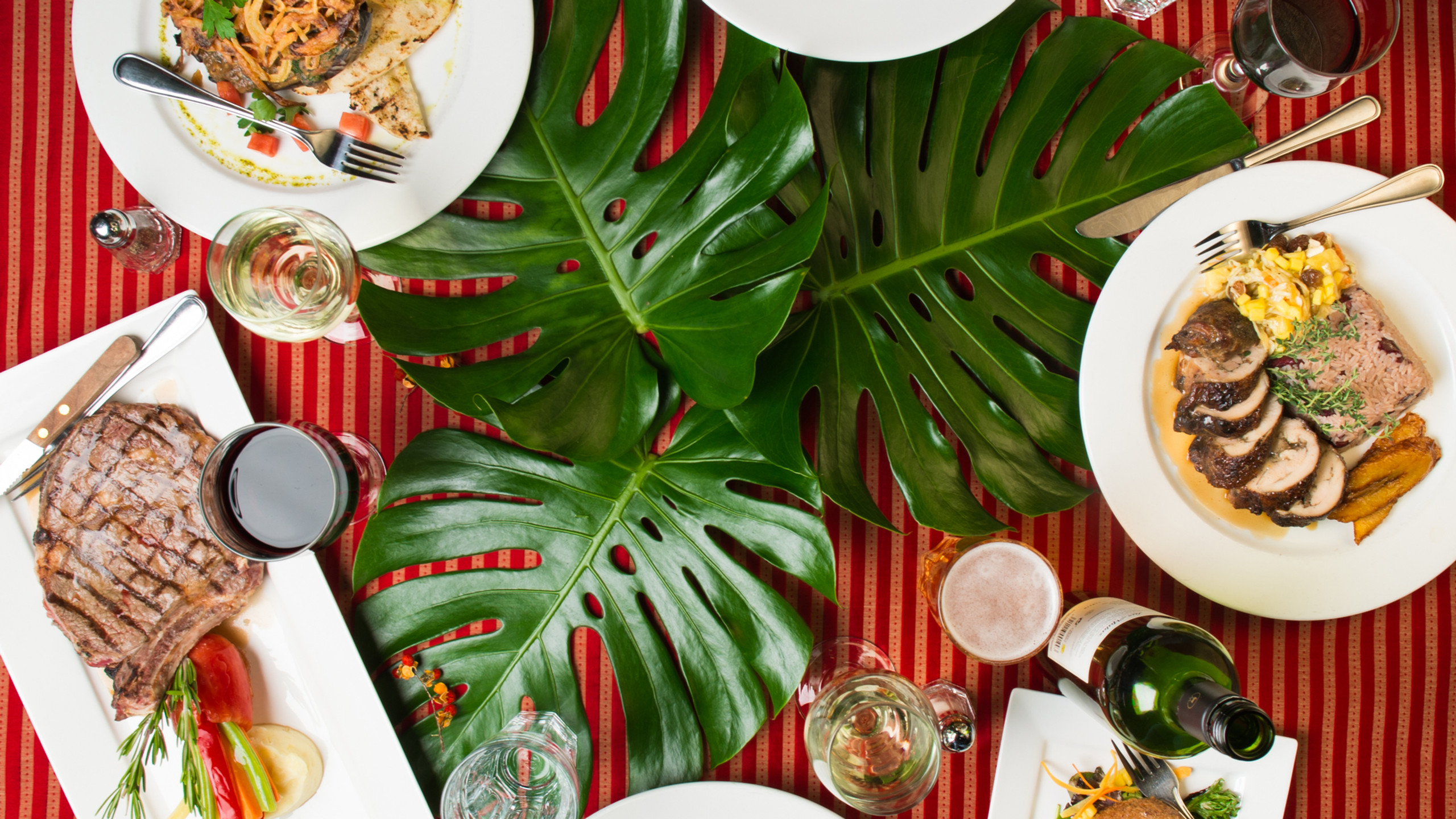 Tropical Dinner Prix Fixe Lula Loung