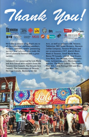 Dundas West Fest for Lula Lounge
