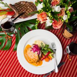 Tropical Dinner Menu at Lula