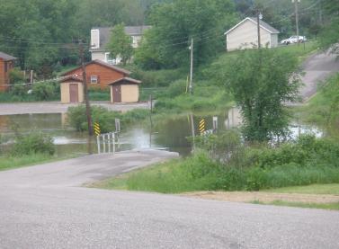 La Valle Flood