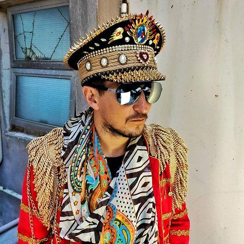 SAILORI2 Festival Captain Hat - [LED Lights] [ALL Sizes]
