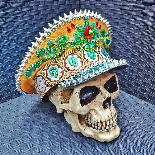 DISCOBLUE Festival Captain Hat