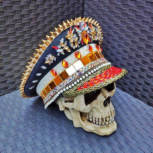 LEDDO Festival Captain Hat - [LED Lights] [ALL Sizes]