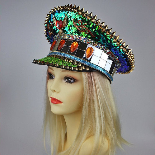 EMERALDO Festival Captain Hat [ALL Sizes]