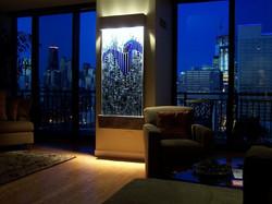Laura's Blue Aurora room setting
