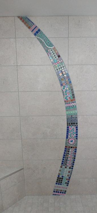 Custom Shower Mosaic