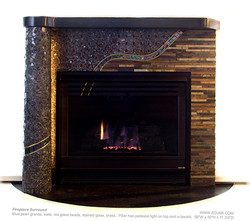 Fireplace surround sold