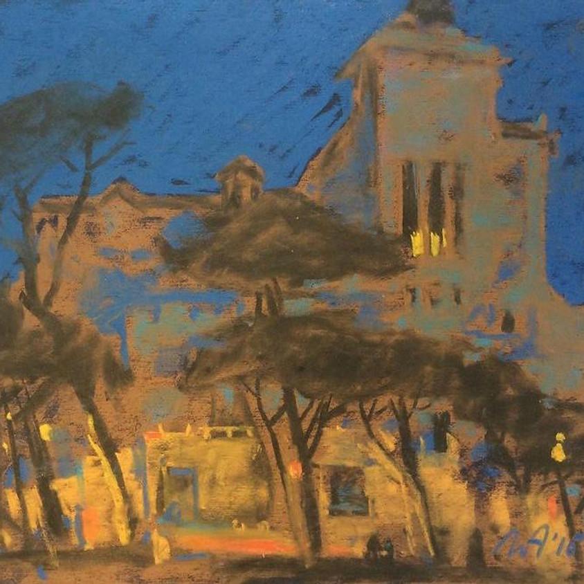 Anna Lapygina. Evening Landscape. Zoom-Demo