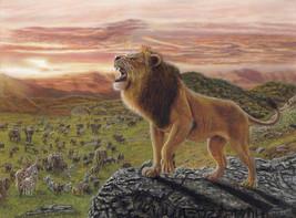 021 Король Лев / Lion King 40x30 cm, 2020