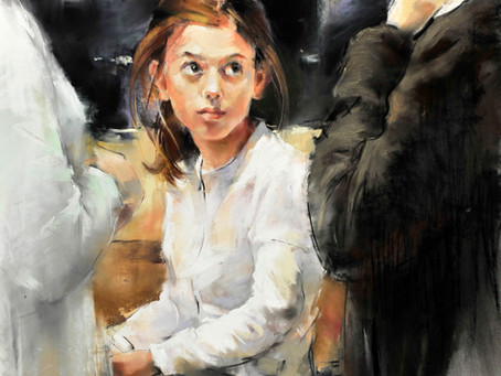 Елена Лобовикова: Пошаговое описание работы / Elena Lobovikova. Step-by-step work