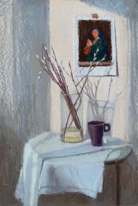 138. Вербное воскресенье / Palm Sunday 70x47 cm, 2020