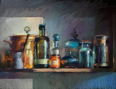 169. On the kitchen shelf 50x60 cm, 2019