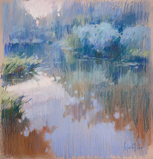 Торфяной пруд Peat pond 30x29. 2018