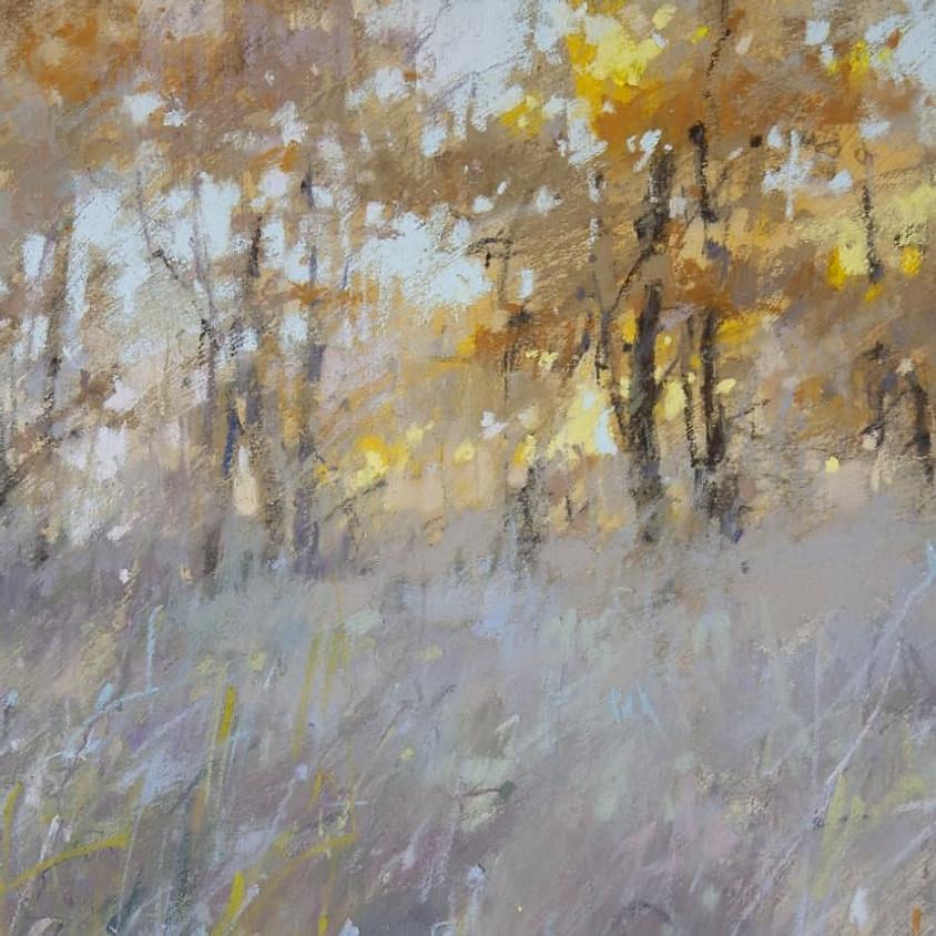 Olga Abramova. Yellow Gold and Neutrals. Landscape.