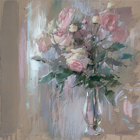 Французский букет French bouquet 51x52. 2019