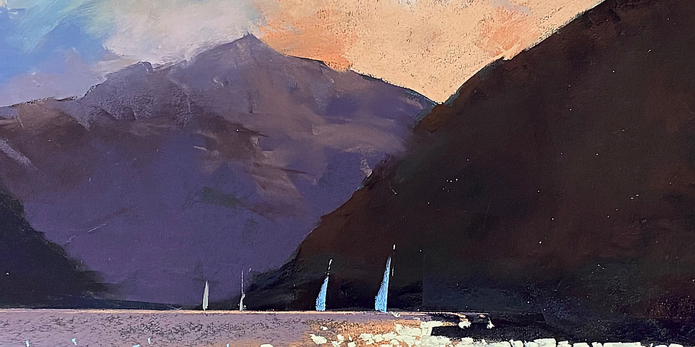 Zoom Workshop With Tony Allain CREATING MOOD & ATMOSPHERE IN PASTEL: using confident 'brushwork'!