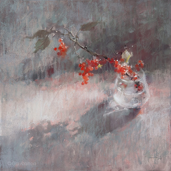 Красная смородина / Red Ribes 50x50cm 2021