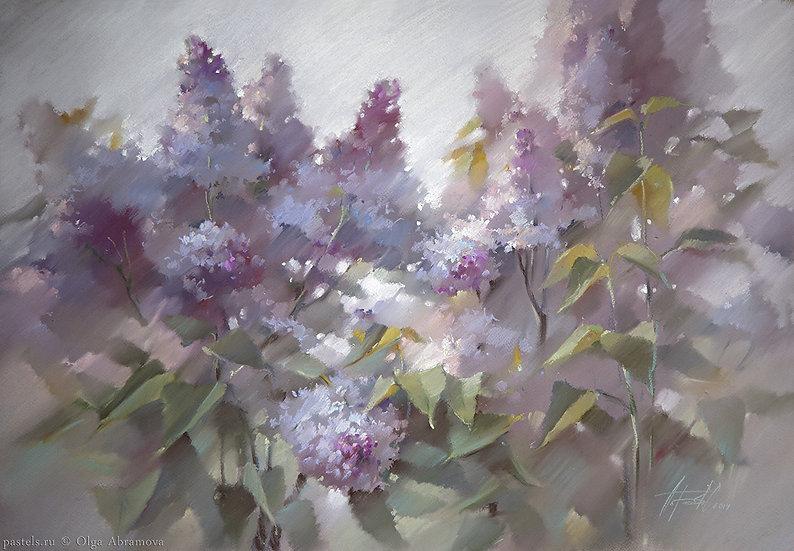 Сирень Lilac 60x80. 2014