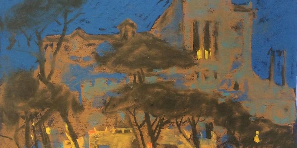 Анна Лапыгина. Вечерний пейзаж. Zoom Демо