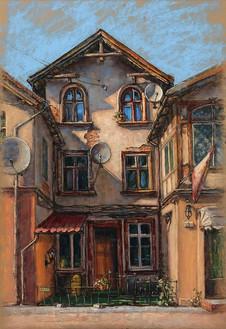 22. Старый дом / Old house 36x25 cm, 2020