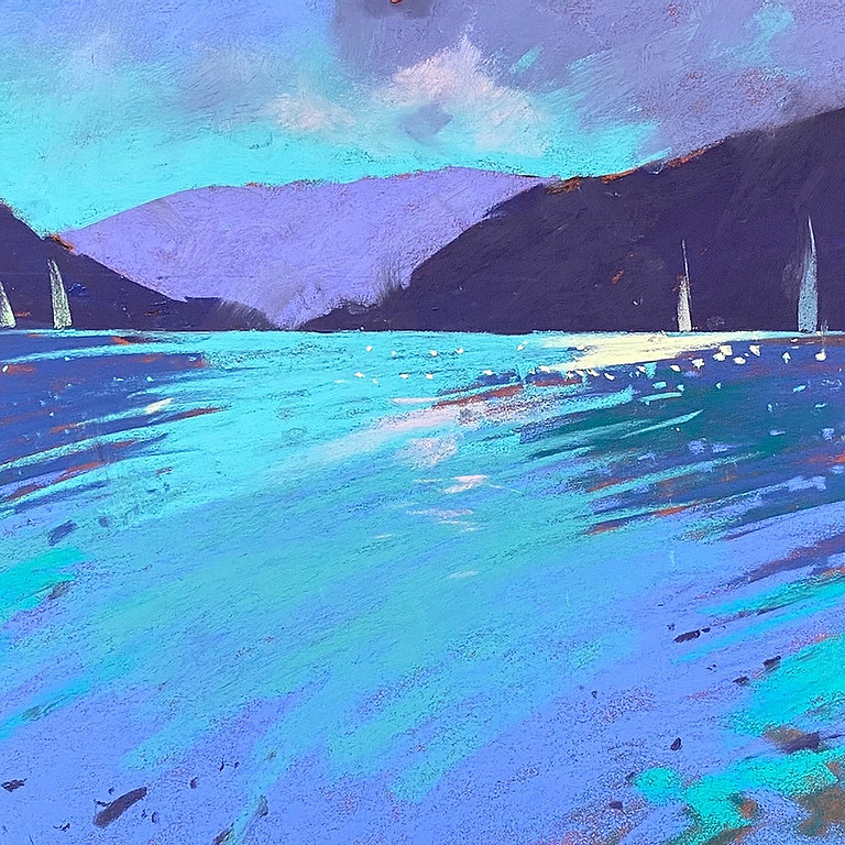 Zoom Workshop With Tony Allain Tony Allain. Our Changing Climate. How to Paint It.