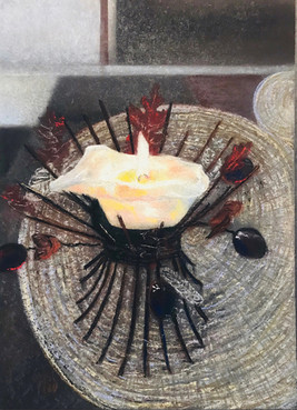 031 Свеча / Candle 40x30 cm, 2020