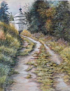 """053 """"The Road to Truth"""" 50Х40 cm, 2020"""